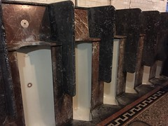 Posh urinals (Matt From London) Tags: johnwesley wesleyshouse methodism crapper urinals toilet