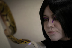 _DSC9669 (In Costume Media) Tags: orochimaru cosplay costume newcon newcon5 pdx naruto shippuden jiraiya kakashi sensei ninija cosplays cosplayers evil snake fight dark green eyes