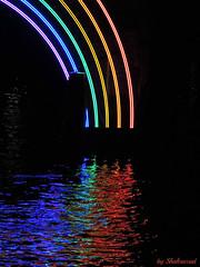 Somewhere over the rainbow (Shahrazad26) Tags: amsterdamlightfestival2016 amsterdam noordholland thenetherlands paysbas nederland holland regenboog rainbow colors couleurs farben kleuren