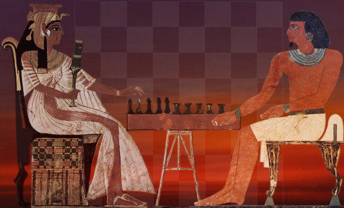"Senet - Lujoso sistema de objetos lúdicos obsequio del dios Toht a la faraona Nefertari • <a style=""font-size:0.8em;"" href=""http://www.flickr.com/photos/30735181@N00/32369505922/"" target=""_blank"">View on Flickr</a>"