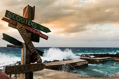 Easy Entry (WhitcombeRD) Tags: wind westbay grand nature rough weather waves dock caribbean winter pool smooth caymanislands cayman gloomy ocean signs sea storm
