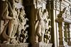 Statues in Amar Sagar Jain temple, Jaisalmer, India ジャイサルメール アマー・サガーのジャイナ教寺院内の像 (travelingmipo) Tags: travel photo india asia 旅行 写真 インド アジア rajasthan ラジャスタン ラジャスターン goldencity ゴールデン・シティ jaisalmer ジャイサルメール amarsagar jaintemple jain temple lake アマー・サガー ジャイナ教寺院 湖 郊外 architecture decoration sculpture relief statue adeshwarnathjaintemple