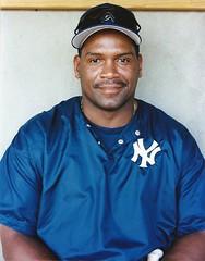 Tim Raines headshot No. 1 (NJ Baseball) Tags: 2000 timraines somersetpatriots atlanticleague independentleague newjersey bridgewater somersetcounty halloffamer