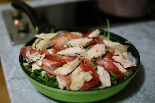 Salad for non-vegetarians