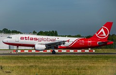 Atlasglobal / TC-ABL / Airbus A320 / EBBR-BRU 25L / © (RVA Aviation Photography (Robin Van Acker)) Tags: brussels airport planes trafic airlines avgeek airliner outdoor airplane aircraft vehicle jetliner jet jumbo air photography aviation aviationphotography