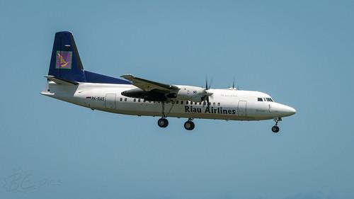 PK-RAS - Riau Airlines - Fokker 50