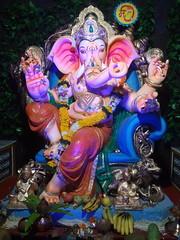 IMG_20160906_223502 (bhagwathi hariharan) Tags: ganpati ganpathi lordganesha god nallasopara nalasopara pooja idols
