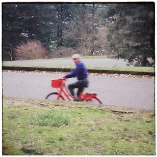 Proof: People ride Biketown bikeshare bikes to the top of Mt Tabor. #mounttabor #mounttaborpark #biketown #bikeshare