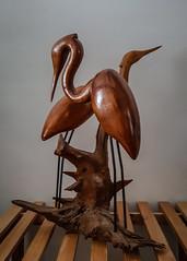 My Father's Art #2 (KWPashuk) Tags: samsung galaxy note5 lightroom kwpashuk kevinpashuk carving art wood heron driftwood bird