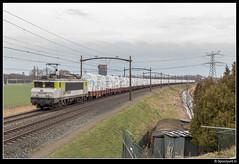CT 1621 - 47705 (Spoorpunt.nl) Tags: 4 maart 2017 captrain 1621 glastrein res čd cargo glasplaten trein 47705 dordrecht zuid