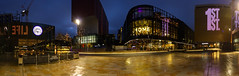 09/52: First Street, Manchester (nickcoates74) Tags: 12mm 12mmf20 a6000 chorley ilce6000 manchester samyang sony firststreet home homemcr panorama night manchesteratnight uk