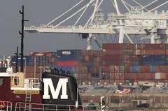 Tug Study--Exhaust (PAJ880) Tags: tig miriam moran nynj port autority bayonne containers exhaust harbor detail