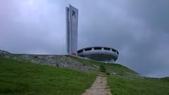 Buzludja (Stanimir Dimitrov - stambeto) Tags: buzludja communist communism bulgaria grass path monument sky clouds cloud