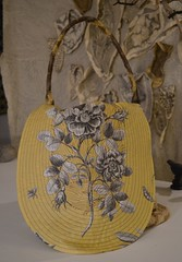 rumpelstilskin bag7 (Danny W. Mansmith) Tags: wwwdannymansmithetsycom handmadebag rumpelstilskin wearableart fiberart sewing gold yellow oneofakind functional drawingwiththesewingmachine dannymansmith burienwashington pockets