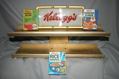 Kellogg's Restaurant Counter Shelf (toyfun4u) Tags: kelloggs cereal