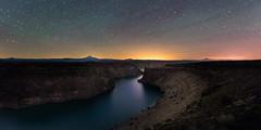 Cove Palisades II (Sandra Herber) Tags: night oregon stars astrophotography cascades milkyway pallisadesstatepark