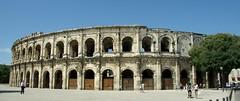 Les Arenes de Nimes (faana) (Sebasti Giralt) Tags: architecture arquitectura roman amphitheatre romano arena amphitheater arenas nimes anfiteatro rom arenes amfiteatre llenguadoc