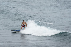 Yes there is surfing in Hawaii. Just not much in August.