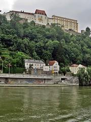 Passau - Veste Oberhaus (zorro1945) Tags: germany bayern deutschland bavaria fort brug stronghold fortress passau donau riverdanube vesteoberhaus cityofthreerivers vesteniederhaus dreiflussestadt