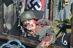 Cafe defender (lcfcian1) Tags: show skeleton soldier army model rat war gun leicestershire zombie nazi swastika victory creepy ww2 cosby 2015 nazisoldier ww2reenactment victoryshow cosbyvictoryshow victoryshowcosby victoryshow2015