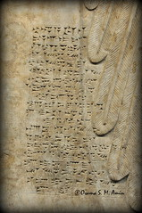 Standard Inscription of Ashurnasirpal II (Assyria, Babylon, Akkad, Sumer...) Tags: bucket spirit iraq relief bracelet sword turban protective britishmuseum bas mesopotamia bowel alabaster sheath polos ashurnasirpal nimrud kalhu armlet apkallu royalthrone headdess calah banduddu