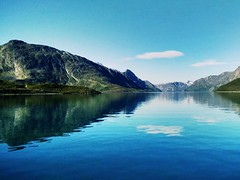 Norway and the nature (AndyHag) Tags: sea summer mountain nature water norway boat seiling