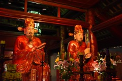 Confucian Temple Icons for Knowledge (armct) Tags: temple icons respect vietnam learning knowledge spirituality wisdom hanoi confucian
