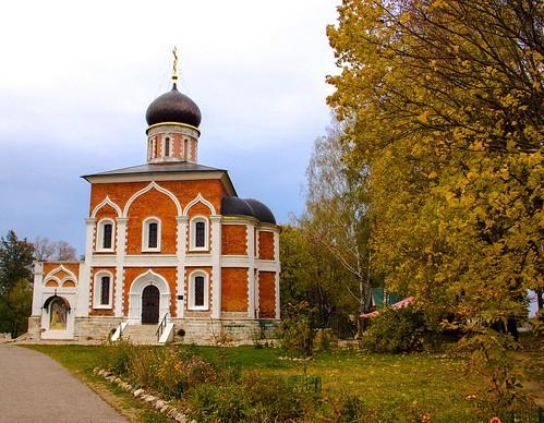 Saint Peter and Paul Church. Mozhaysk Kremlin, Moscow region.