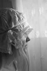 Skir-Sheer (Annica Spjuth) Tags: svartvit skir fotosondag fs151025 älskadedotter brudhätta