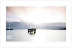 le ponton fantme (Emmanuel DEPARIS) Tags: sea mer clouds sunrise nikon emmanuel manche ponton cherbourg deparis d810