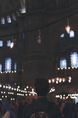 Blue mosque. (Like a Rolling Stones) Tags: cruise blue autumn boy sunset shadow red sky sun man guy film church nature wet yellow shirt sunrise 35mm turkey naked nude beard evening reflex fantastic twilight nikon european afternoon muslim islam meadow culture naturallight istanbul mosque sharp teen shade ap shoulders muslims nikkor bluemosque shape effect nero bew msc ephesus izmir endless artificiallight turchia cruis sharpness islamism smirne efeso nikonlens costantinopoli islamismo filmeffect apsc nikkor35mm18g mscmagnifica nikond5100 externalight