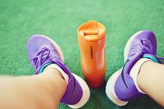 Coffee after run (vanilla_jo) Tags: coffee sport colorful running run sneakers nike runner nikesneakers longdistancerunner nikepluse