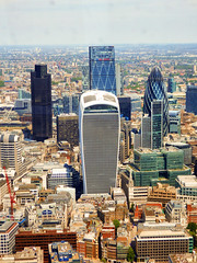 The View From The Shard, The City of London Financial District, London (photphobia) Tags: city uk panorama building london skyline architecture skyscraper outdoor landmark financialdistrict shard gherkin renzopiano tower42 walkietalkie thecityoflondon contemporaryarchitecture shardofglass renzopianobuildingworkshop oldwivestale leadenhallbuilding shardlondonbridge theviewfromtheshard thecityoflondonfinancialdistrict uklondonshardskyline