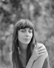 Anna Ash (john hanson.) Tags: portrait musician 120 film artist tmax