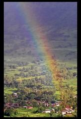 Rainbow in rural Satara valley (indianature13) Tags: india nature rainbow colours maharashtra satara ruralindia indianature