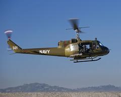 Bell UH-1B (Titanium Man) Tags: bell uh1b americanheroesairshow n832m