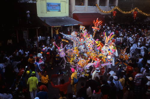 "Bahamas 1988 (122) New Providence: Junkanoo • <a style=""font-size:0.8em;"" href=""http://www.flickr.com/photos/69570948@N04/23457370972/"" target=""_blank"">View on Flickr</a>"