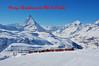 Christmas Greetings (paul_braybrook) Tags: gornergrat matterhorn switzerland swissrailways swisstrains snow mountains landscape railway trains
