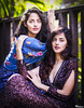 The B Twins (Warholy) Tags: review twins sisters family similar alike beauty beautiful vintage retro dress portrait