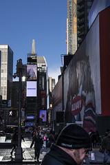Times Sq, December (PAJ880) Tags: times sq nyc manhattan new york late pm light people street shadows december cold