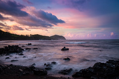 Sunset at Koki (blackhawk32) Tags: hana hawaii kokibeach landscape sunset beach