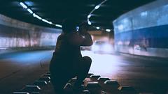 (Nikolas L.) Tags: explore retrato urban urbano street brightlight portrait streetphotography city ciudad photography night noche light luces luz cinematic cinematography moment color man santiago chile nikon nikond7100 sigma 35mm
