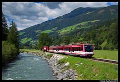 Pinzgauer Lokalbahn 102, Rosental 07-08-2016 (Henk Zwoferink) Tags: rosental salzburg oostenrijk pinzgauer lokalbahn henk zwoferink slb tauern zell am see krimml salzburger gmeinder