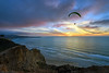 Hang Glider and a Sunset (markwhitt) Tags: markwhitt markwhittphotography sandiego lajolla california usa southerncalifornia pacificocean cliffs sunset dramatic clouds colors colorful ocean hangglider nature scenic scenery travel adventure outdoors pier scrippspier