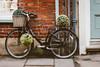 Raleigh (jillyspoon) Tags: raleigh black canon70d canon 70d pancake pancakelens york street pavement bike bicycle miniature creative bicyclebasket