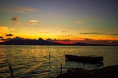 Sunset (lauraacasano) Tags: giliacquas tramonto sardegna barca boat stagno acqua parcodigiliacquas elmas cagliari water sunset autunno canoneos1200d canonefs1855mm iso200 230mm f35 11600 efs1855mmf3556iii leandscape