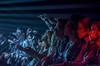 Reperkusound (Renaud Alouche) Tags: jaune rouge red concert lihgts light black white contrast flash nikon nature travel live photo music musique guitar bass trumpet microphone mouvement d7100 d7000 blue crowd eyes eye smile