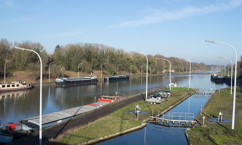 Belgium Ronquières canal (#0205)