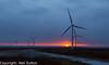 Windmills at Sundown (Neil Sutton Photography) Tags: canon geocache scotland scotlandsrailway sungoingdown sunset whitelee windfarm silhouette windturbine unitedkingdom