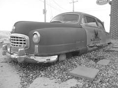 Visiting Iowa (FotografiaElOjoCallejero) Tags: americanpickers rustycar leclaire iowa